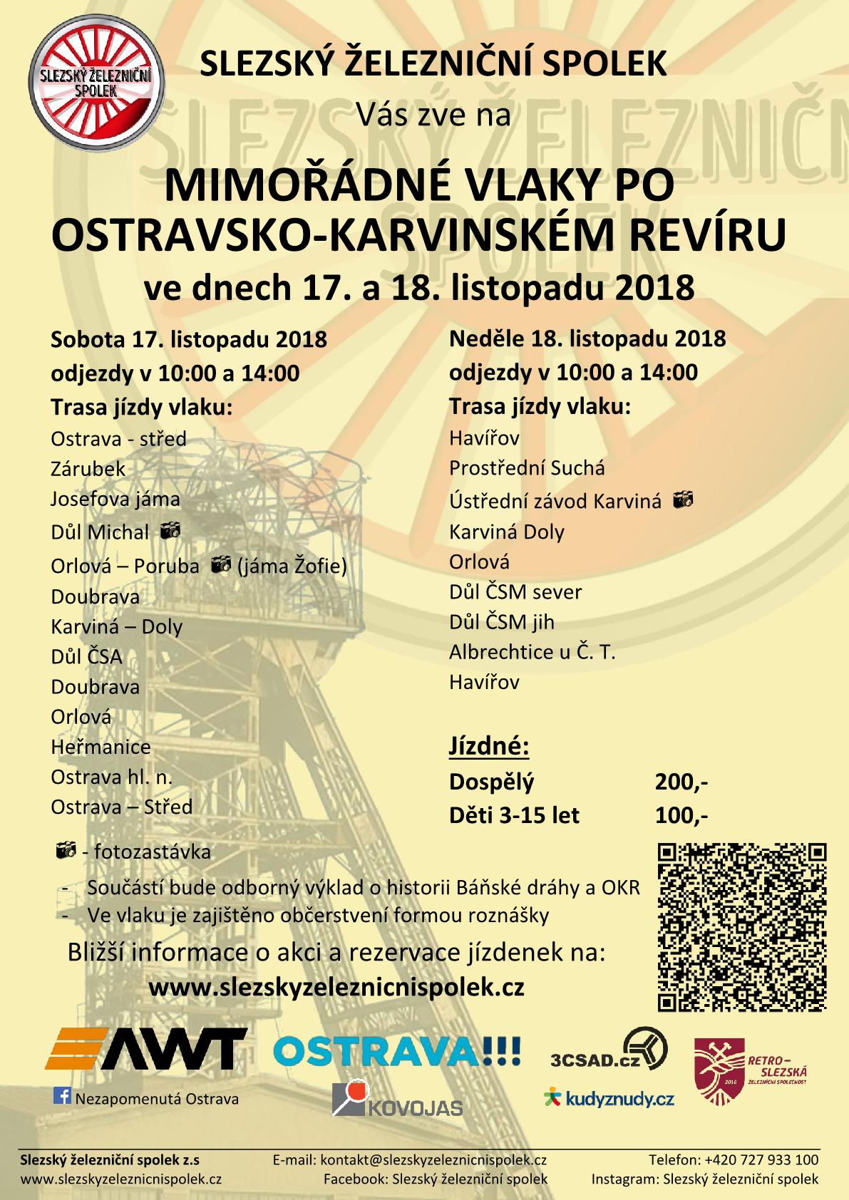 Báňské spěšné vlaky 18.listopadu